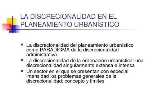Eva Desdentado Daroca, profesora da Universidade de Alcalá de Henares  - Seminario sobre a Discrecionalidade no Exercicio das Potestades de Planificación, Xestión e Disciplina Urbanística